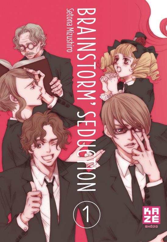 Brainstorm Seduction Tome 1 de Setona Mizushiro