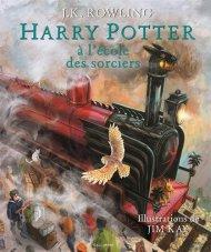 Harry Potter à l'école des sorciers - Version Illustrée - de J.K.Rowling+0