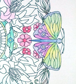 mandalas fleuris crayons exemple 2-2