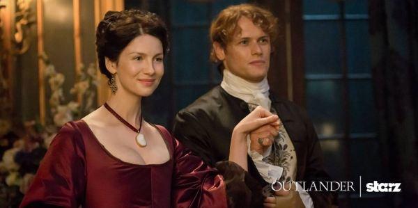 Outlander saison 2 - Jamie et Claire