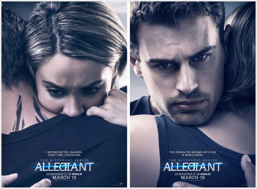 Poster Divergente 3 Allegiant Four and Tris
