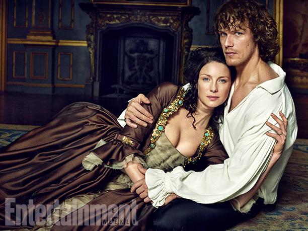 Photo de Outlander – Un photoshoot «hot» pour EW !