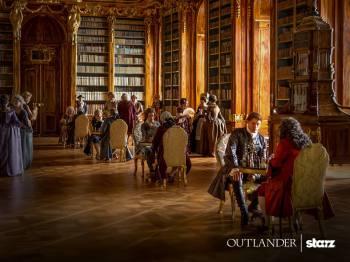 Outlander saison 2 - Jamie à Paris