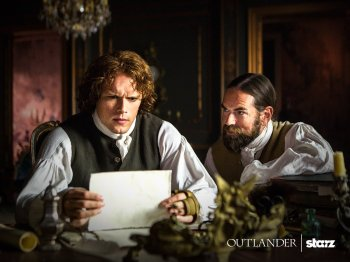 Outlander saison 2 - Jamie et Murtagh 3