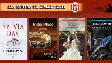 Photo de Les Sorties J'ai Lu Pour Elle de Juillet 2016