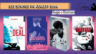 Photo of Les Sorties Hugo Romance de Juillet 2016