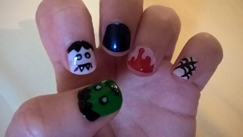 Nail art Halloween 2