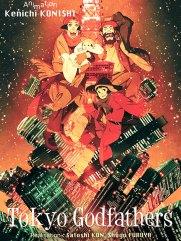 Tokyo Godfathers - Affiche