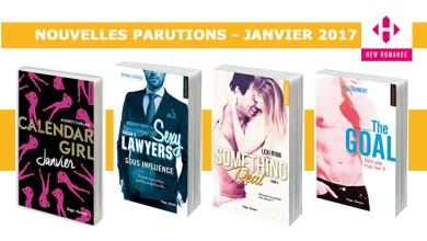 Photo of Les Parutions «Sexy» de Hugo Romance pour Janvier 2017 !