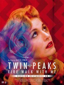 Twin Peaks - Fire walk withe me (affiche)