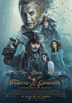 Pirates des caraïbes: La vengeance de Salazar - Affiche