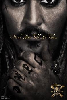pirate des caraibes 5 affiche promo