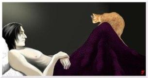 Snape and Cat