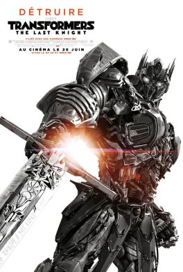 Transformers, The last Knight - Affiche