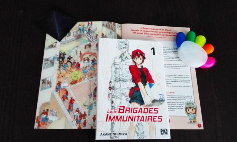 Photo de Les Brigades Immunitaires Tome 1 de Akane Shimizu