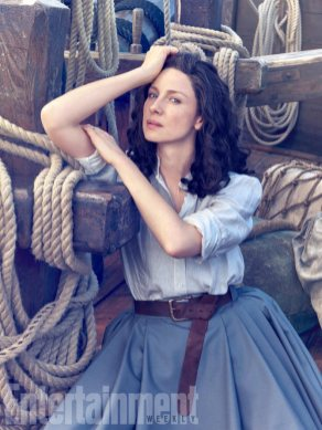 Outlander Saison 3 - Photoshoot EW (1)