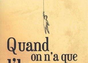 Photo of Quand on n'a que l'humour d'Amélie Antoine
