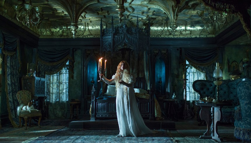 Crimson Peak - Allerdale Hall chambre Edith