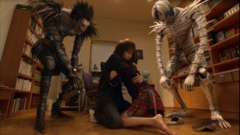 Death Note - Ryûk, Light, Misa et Rem