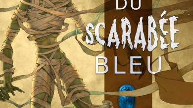 Photo of La Malédiction du Scarabée Bleu, de Josh Lanyon