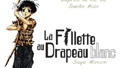 Photo of La fillette au drapeau blanc de T. Higa & S. Miyauchi