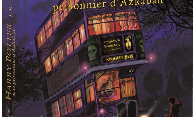 Photo de Harry Potter et le prisonnier d'Azkaban illustré par Jim Kay