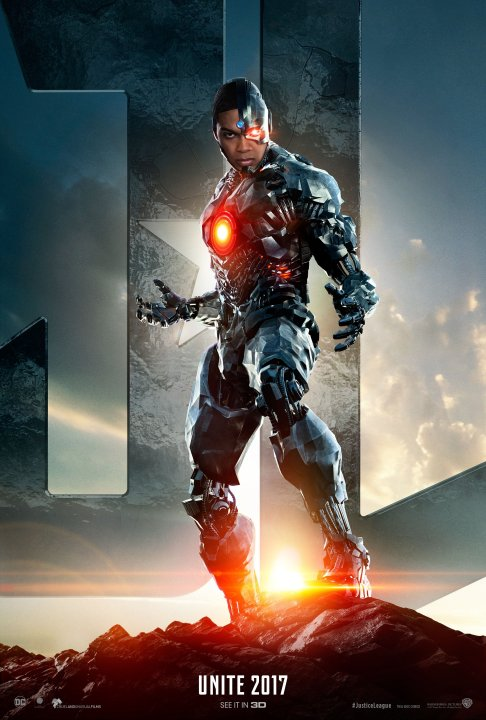 Justice League - Cyborg Unite
