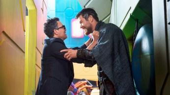 Thor Ragnarok - Thor et Bruce, joie