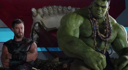 Thor Ragnarok - Thor et Hulk