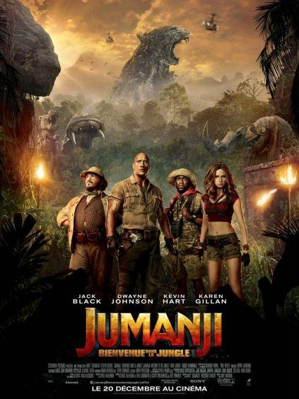 Jumanji: Bienvenue dans la jungle