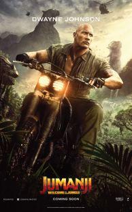 Jumanji - Bienvenue dans la jungle - Dwayne Johnson