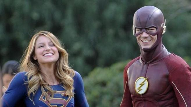 Supergirl S1 - Supergirl et Flash