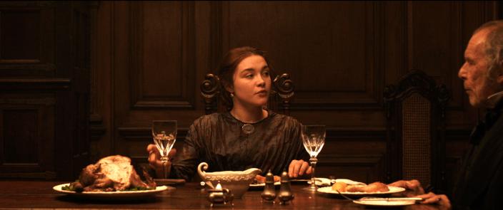 The Young Lady - Kathrine dîner avec son beau-père