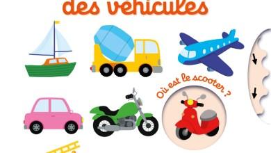 Photo de Mon imagier-jeu des véhicules de Nathalie Choux