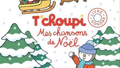 Photo de T'choupi, Mes chansons de Noël – Livre sonore de Thierry Courtin