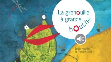 Photo de La grenouille à grande bouche de Élodie Nouhen et Francine Vidale