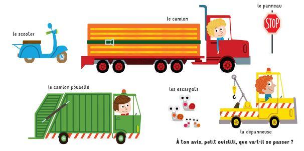 L'imagier rigolo des véhicules de Florence Langlois-2