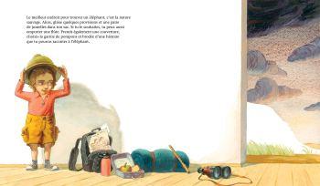 Comment trouver un éléphant de Kate Banks & Boris Kulikov-1