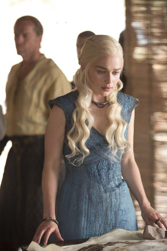 Daenerys et Jorah, dans la saison 3