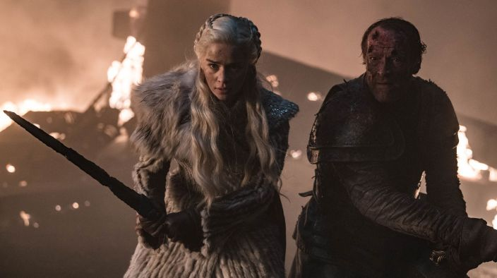 Games of Thrones Saison 8 Ep 3 - Jorah et Dany