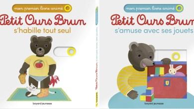Photo de Petit Ours Brun : S'amuse avec ses jouets / S'habille tout seul de Laura Bour