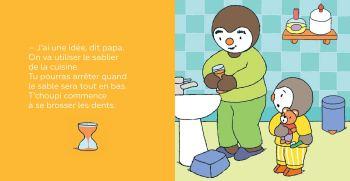 T'choupi se brosse les dents de Thierry Courtin3