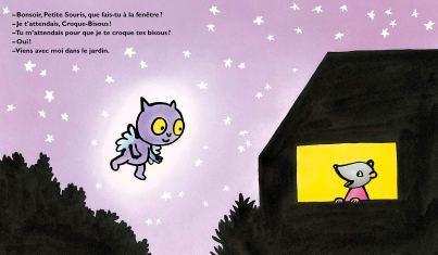 Croque-bisous et les étoiles filantes de Kimiko-1