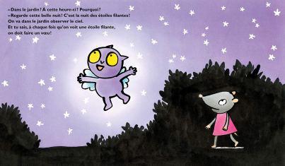 Croque-bisous et les étoiles filantes de Kimiko-2