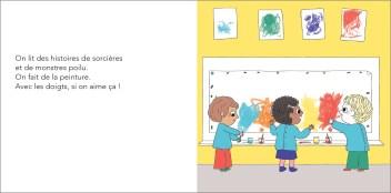 Max et Lapin T10 L'école Ah ! Non merci ! de Astrid Desbordes et Pauline Martin-2