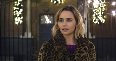 Emilia Clarke as Kate in Last Christmas, directed by Paul Feig.