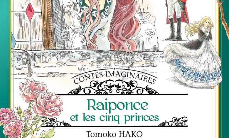 Photo of Raiponce et les cinq princes de Tomoko Hako