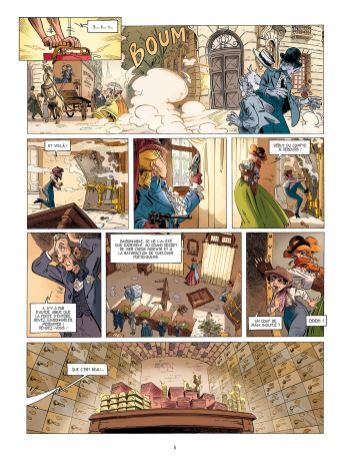 Le Vol de la Sigillaire de Pierre Pevel et Etienne Willem 2