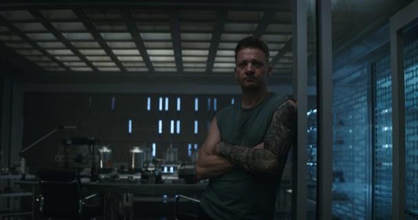 Marvel Studios' AVENGERS: ENDGAME..Hawkeye/Clint Barton (Jeremy Renner)..Photo: Film Frame..©Marvel Studios 2019