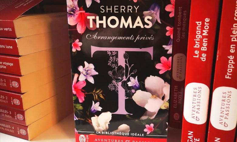 Photo de Arrangements Privés de Sherry Thomas